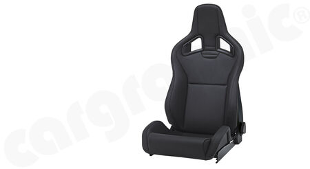RECARO Sportster CS - Leather - Cover: Leather Black <br>
