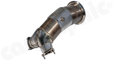 HJS Tuning Downpipe - 90811140 - with <b>200cpsi sport catalytic converter</b><br>