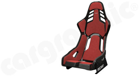 RECARO Podium - Alcantara / Leather - Cover: Alcantara Red / Leather Black<br>