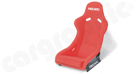 RECARO Pole Position N.G. (FIA) - Velours - Cover: Velours Red<br>