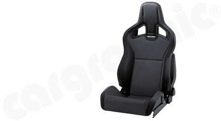 RECARO Sportster CS - Ambla Leather - Cover: Ambla leather Black<br>