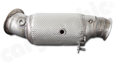 HJS Tuning Downpipe - 90812010 - with <b>300 cpsi sport catalytic converter</b><br>