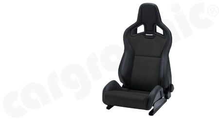 RECARO Sportster CS - Dinamica / Kunstleder - Cover: Dinamica Black / Ambla leather Black <br>