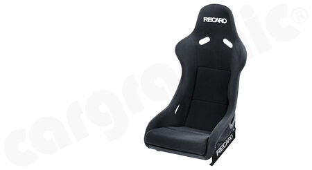 RECARO Pole Position N.G. (FIA) - Velours - Cover: Velours Black<br>
