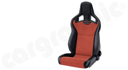 RECARO Cross Sportster - Dinamica / Ambla leather - Cover: Dinamica Red / Ambla leather<br>
