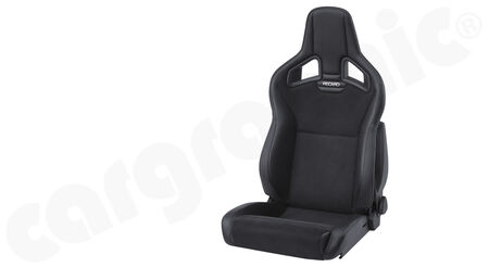 RECARO Cross Sportster - Dinamica / Ambla leather - Cover: Dinamica Black / Ambla leather<br>