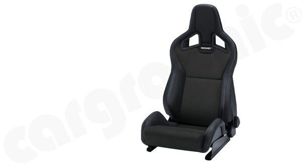 Sport Seat Recaro Sportster Cs Dinamica Black Ambla Leather Black