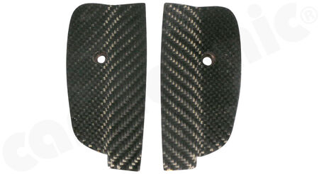 CARGRAPHIC Door Cover End Set - - Visual-Carbon<br>