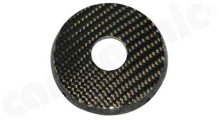 CARGRAPHIC Starter Lock Bezel - - Visual-Carbon<br>